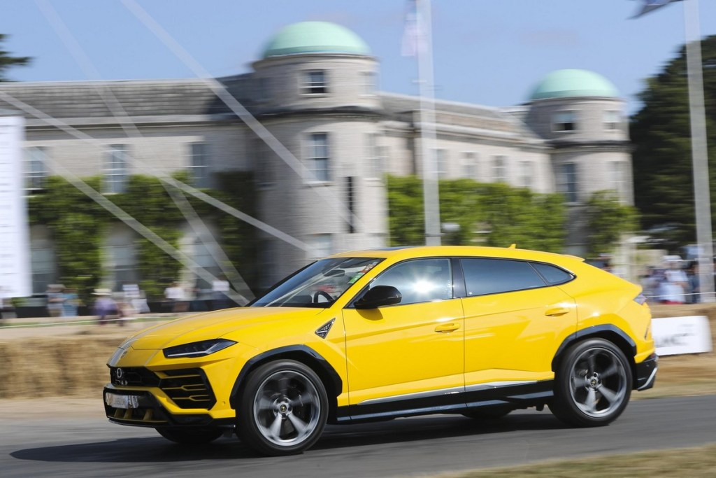 Lamborghini Urus at the Goodwood Festival of Speed 2018