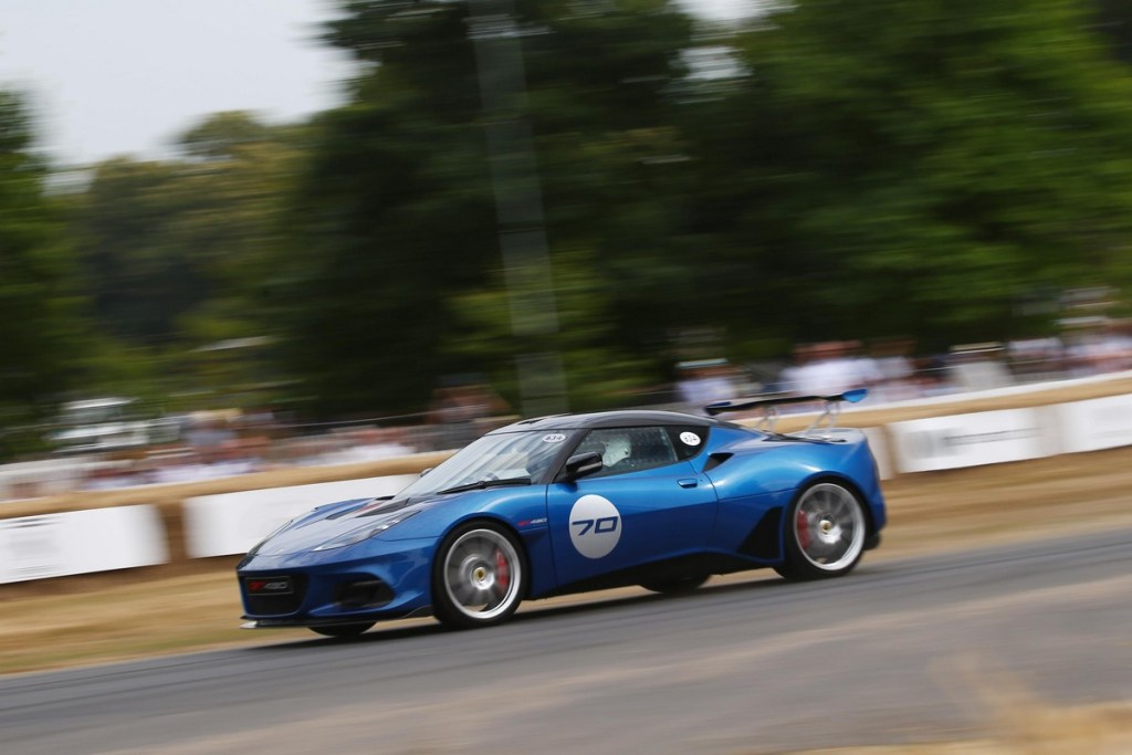 Lotus Evora GT430 - Goodwood Festival of Speed 2018