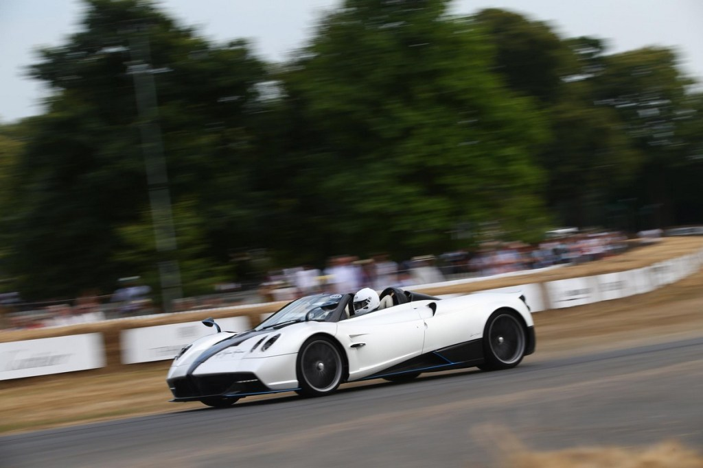 Pagani Huayra Roadster - Goodwood Festival of Speed 2018
