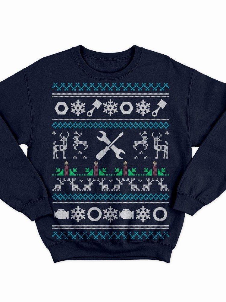 Mechanic Christmas Sweatshirt