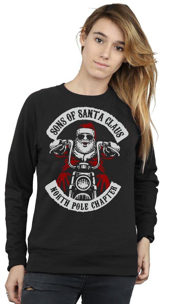 North Pole Chapter Santa Biker Jumper