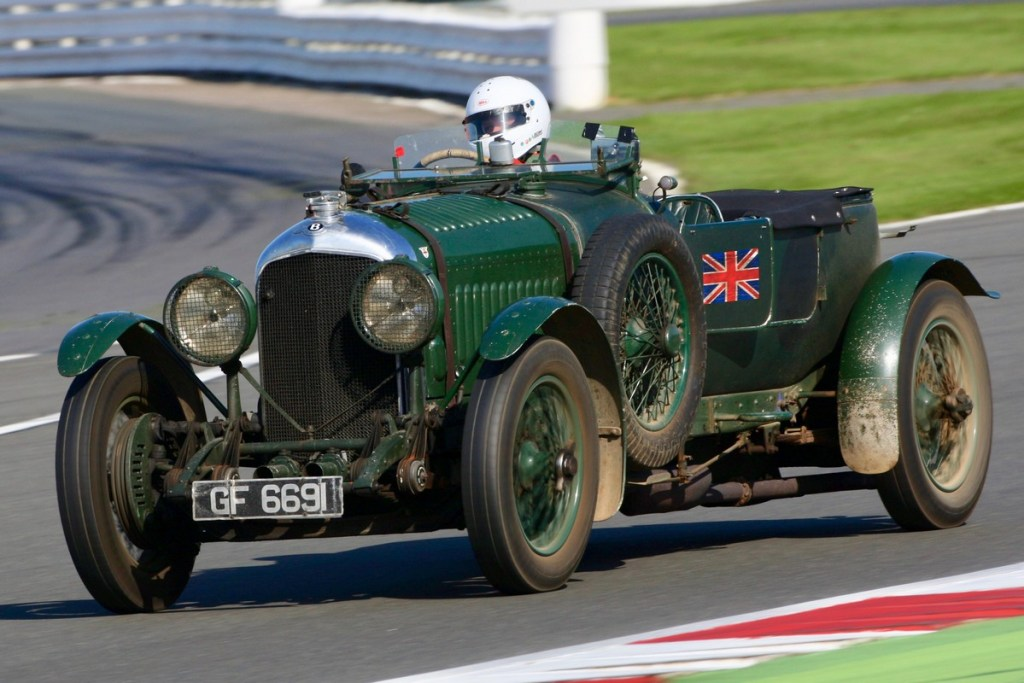 Bentley Centenary Trophy for Pre-War Sports Cars at the Silverstone Classic