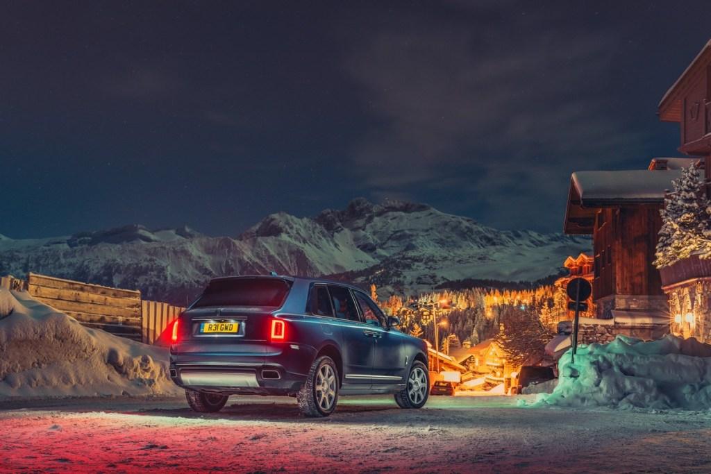 Rolls-Royce Cullinan opens ski season