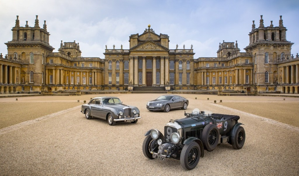 Bentley Display at Blenheim Palace - courtesy BDC
