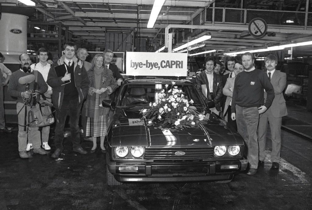 Ford Capri 50th Birthday At Silverstone Classic 2019