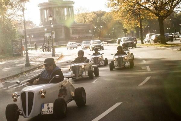 Tour of Berlin in Mini Hot Rods