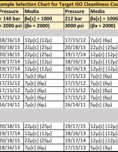 Target iso cleanliness selection chart also how to read codes petrolink rh petrolinkusa