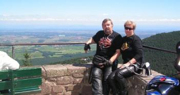Mont Sainte Odile, Alzacja. Fot. archiwum prywatne Dariusza Ciarkowskiego