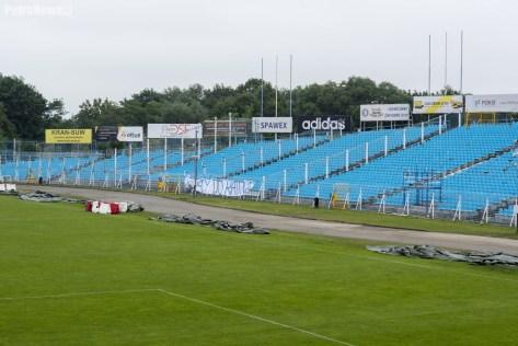 1 czerwca - prace na stadionie