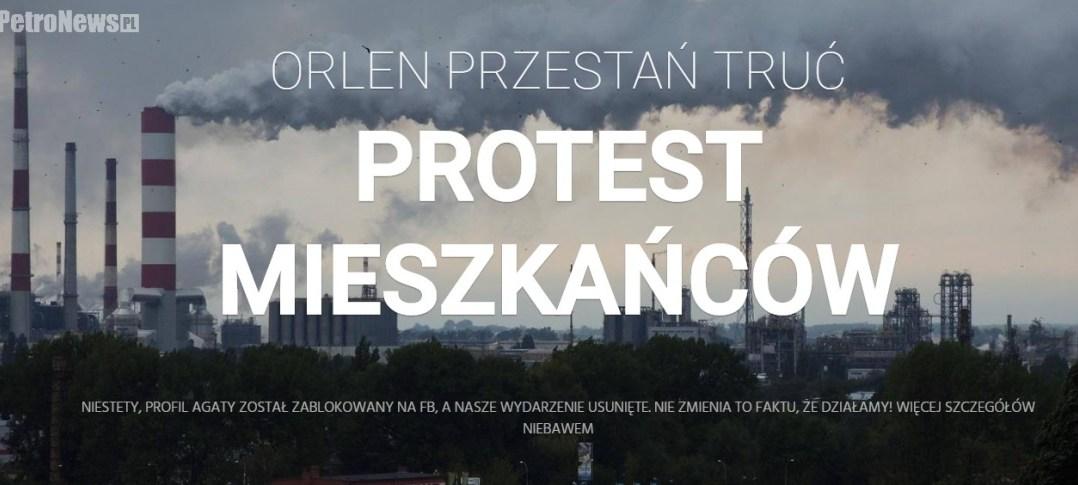 zrzut strony ProtestPlock.pl