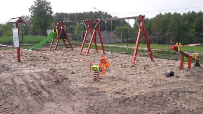 Plac zabaw w Szczytnie