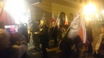 Fot. uczestnik protestu