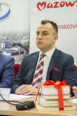 Dyrektor Tomasz Kominek, Fot. Wiktor Pleczyński