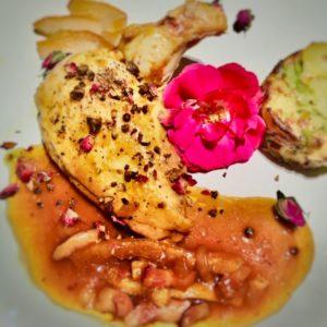 Photo poulet orange rose - petronillelampion