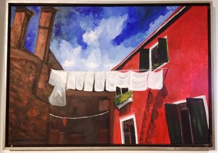 Village italien, 2015 (68x100 cm)