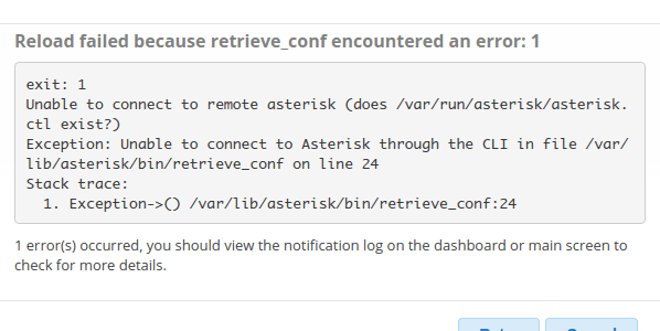 Asterisk Unable to Connect to remote asterisk