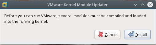 VMWare Kernel Module Updater