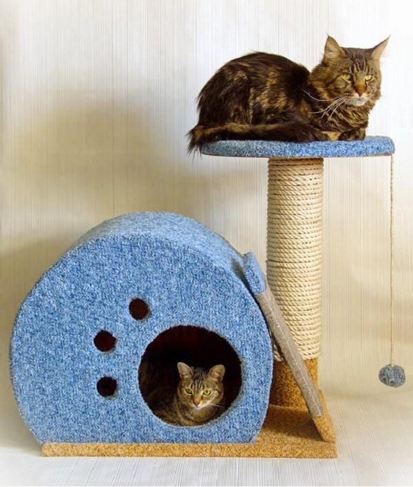 Hus for katten gør det selv