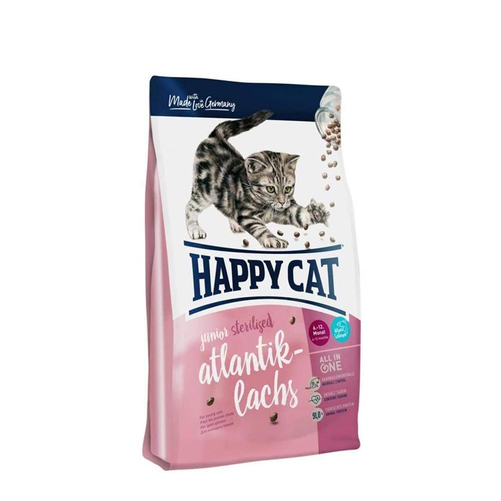 Happy Cat Junior Sterilised Atlantic Salmon 4 kg