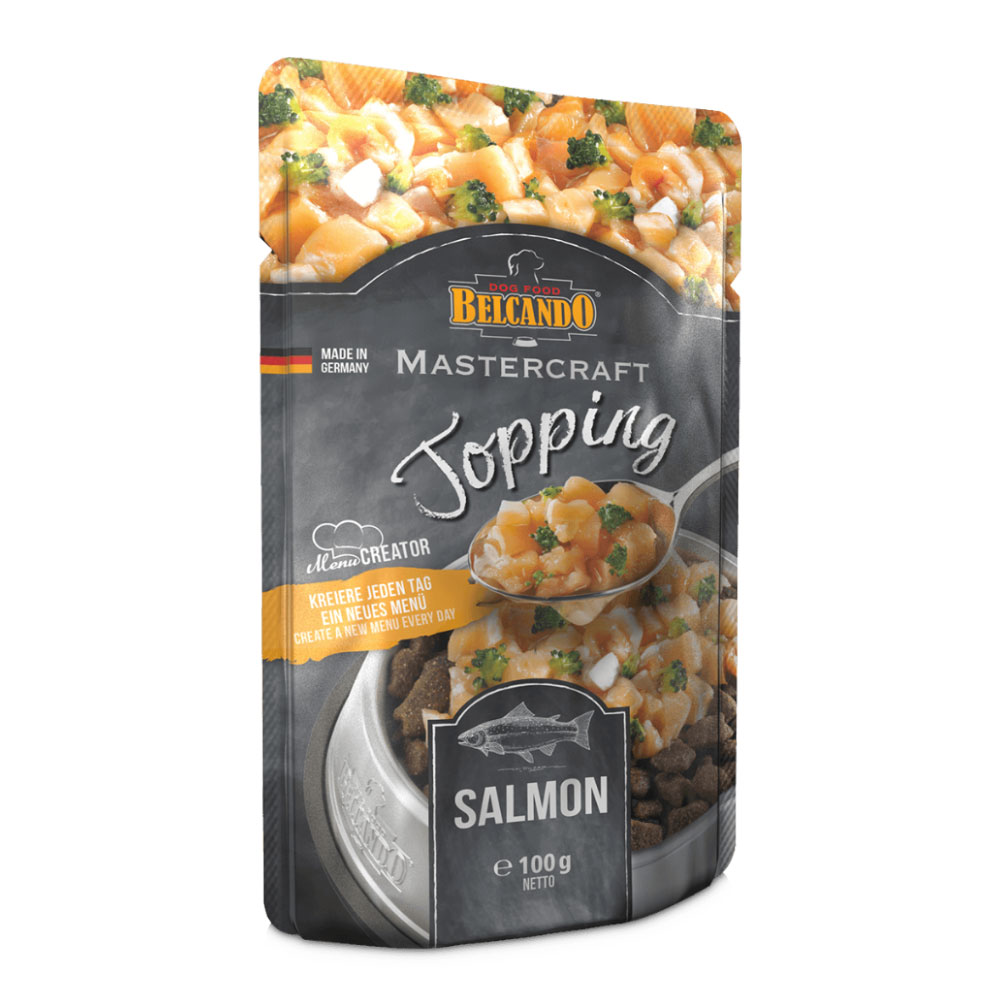 BELCANDO® MASTERCRAFT Topping Salmon 100g