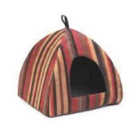 Ancol Sleeepy Paws Rich Stripe pyramid - Pets Lovers Top Store