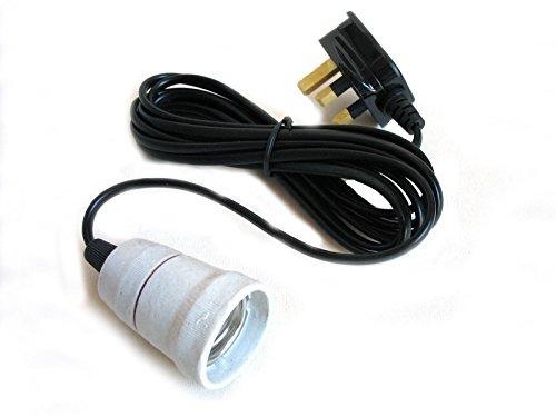 Reptile Vivarium Ceramic Bulb Lamp Heater Holder Es E27 1