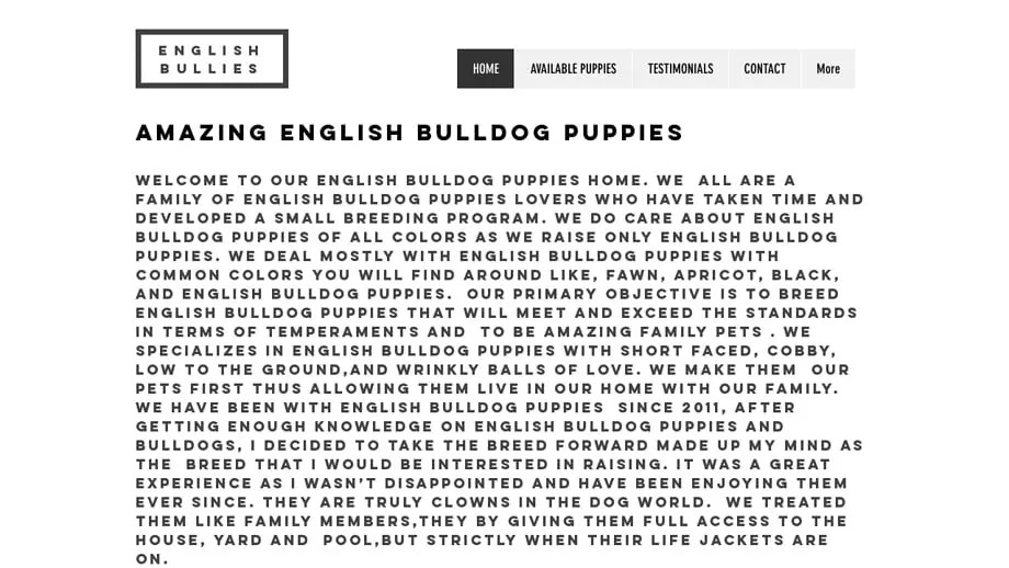 Winsomeenglishbullies