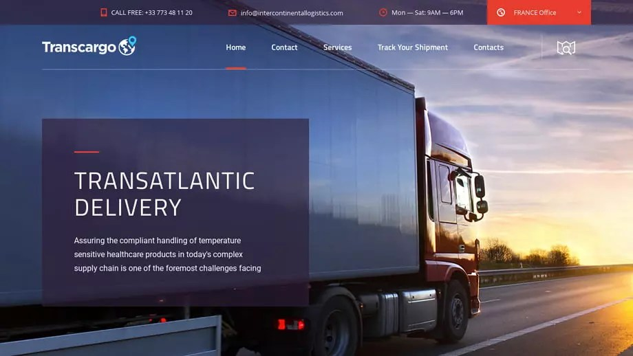 Intercontinentallogistics