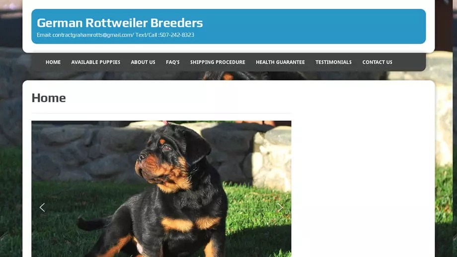 Germanrottweiler-breeders