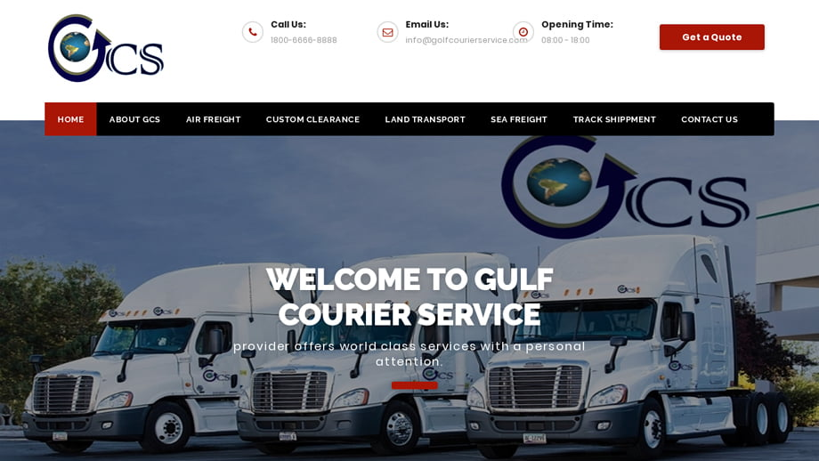 Golfcourierservice