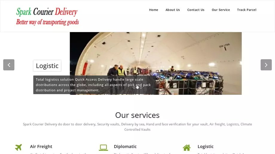 Sparkcourierdelivery