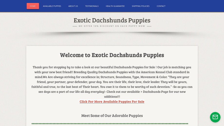 Exoticdachshunds