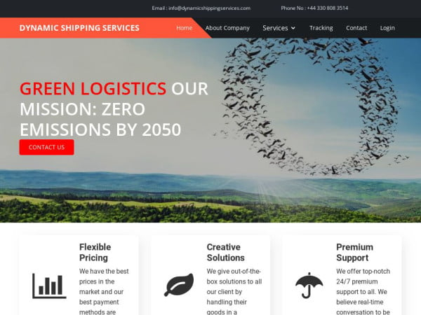 Dynamicshippingservices