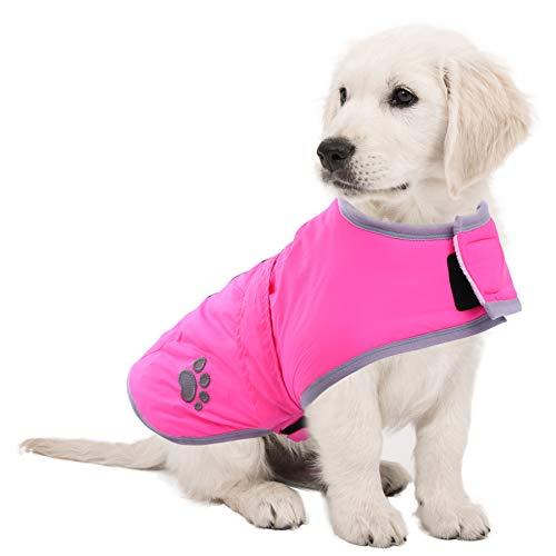 Dog Hurtta Coat Polar Vest Toy breed Puppy S to XXL Pink reflective Coat Jumper