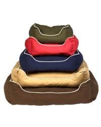 Dog Gone Smart Lounger Bed Red M 26 x 24, Dog Gone Smart ...