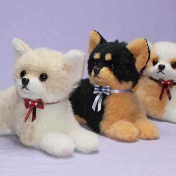 Black And Tan Chihuahua Stuffed Animal
