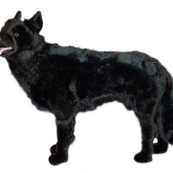 Black German Shepherd Stuffed Animal