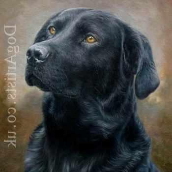 Black Labrador Paintings