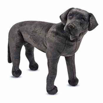 Black Labrador Stuffed Animal
