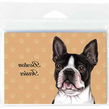 Boston Terrier Note Cards
