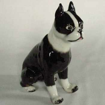 Boston Terrier Statues Figurines