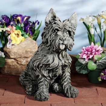 Cairn Terrier Garden Statues
