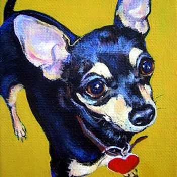 Chihuahua Paintings