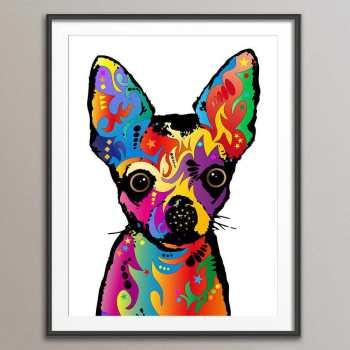 Chihuahua Pop Art