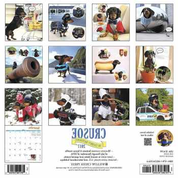 Crusoe The Celebrity Dachshund Calendar