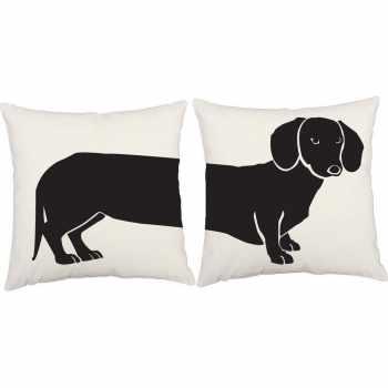Dachshund Decorative Pillows