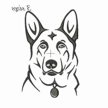 German Shepherd Design