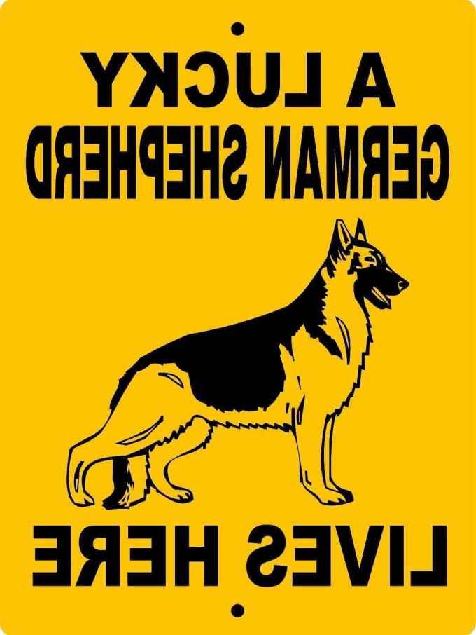 German Shepherd Dog Signs
