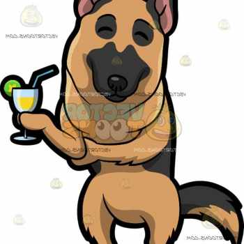 German Shepherd Mascot