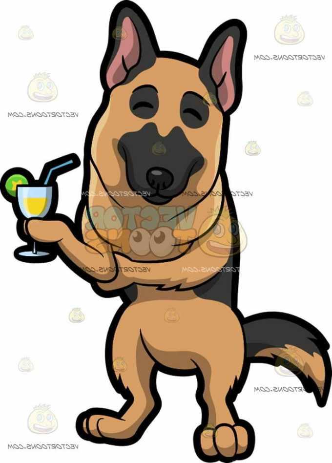 German Shepherd Mascot
